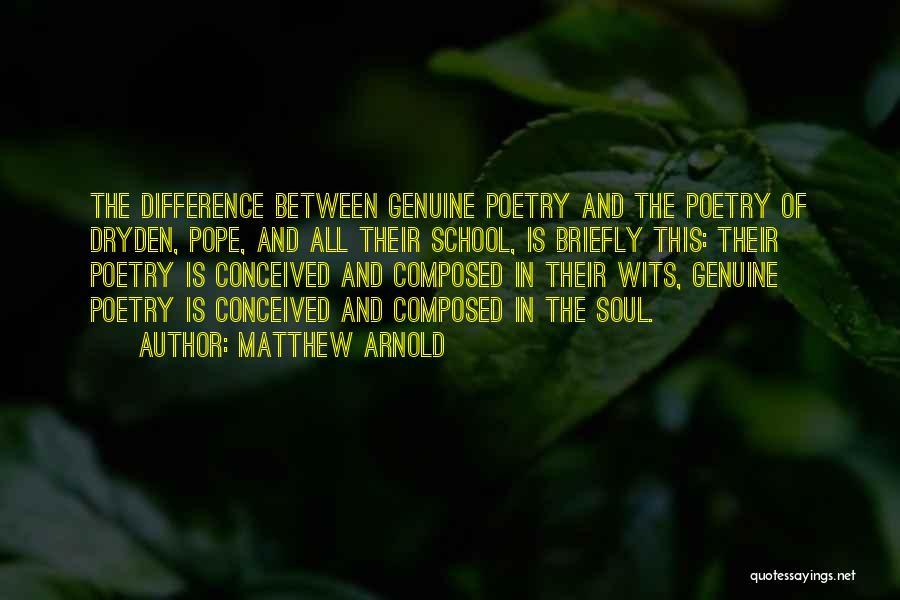 Matthew Arnold Quotes 878159