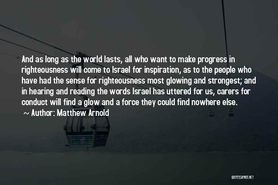 Matthew Arnold Quotes 918624