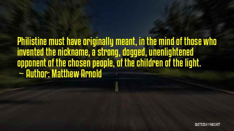 Matthew Arnold Quotes 94333