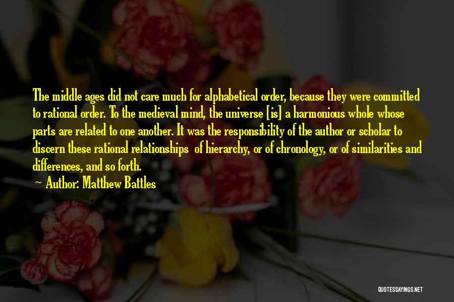 Matthew Battles Quotes 1578188