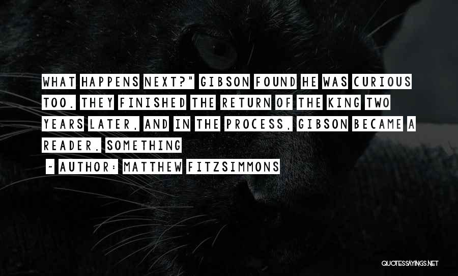 Matthew FitzSimmons Quotes 111397