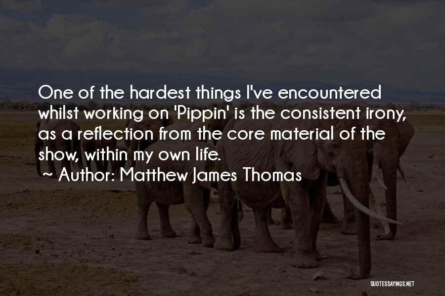 Matthew James Thomas Quotes 1720655
