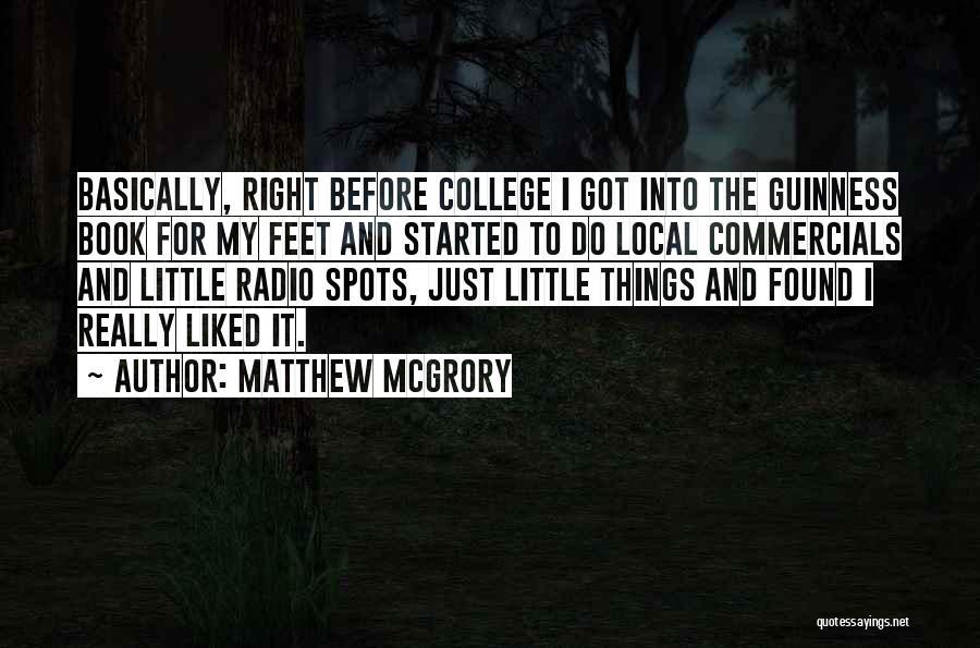 Matthew McGrory Quotes 1531187