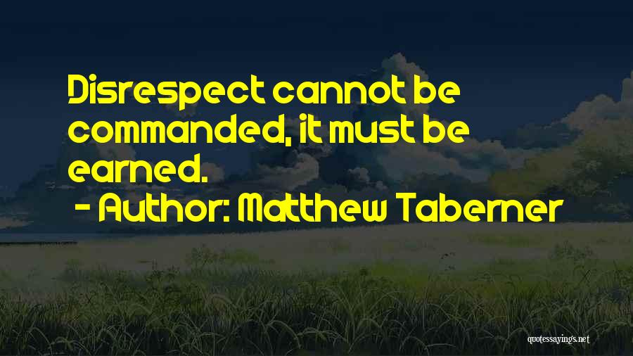 Matthew Taberner Quotes 1708656