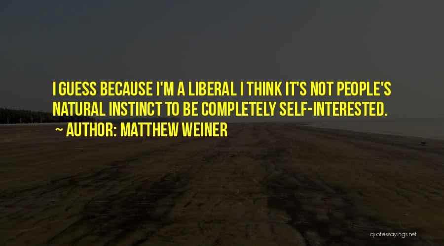 Matthew Weiner Quotes 1819959