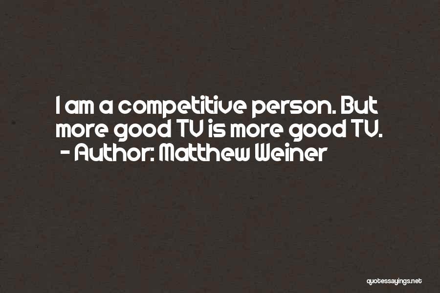 Matthew Weiner Quotes 1842896