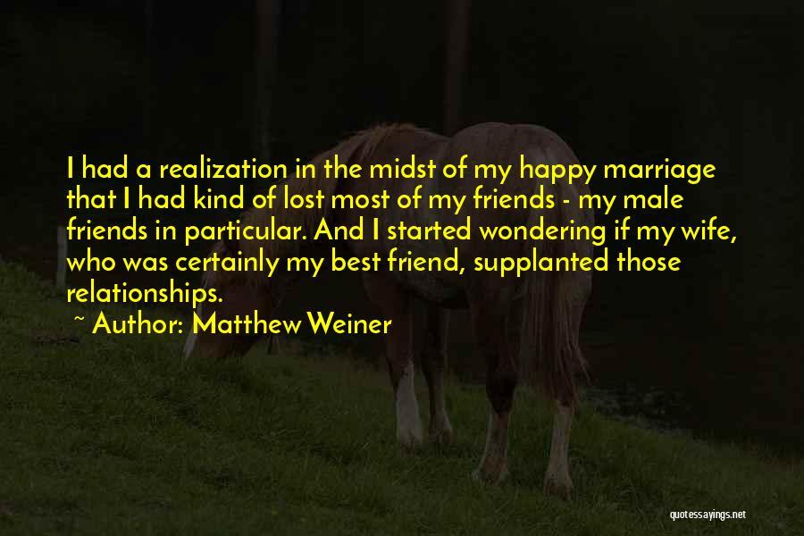 Matthew Weiner Quotes 2179949
