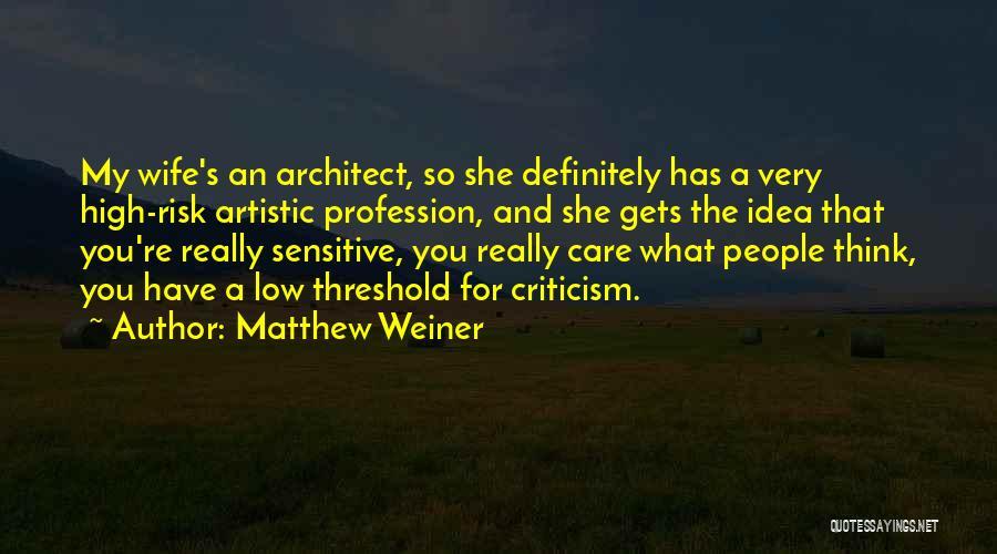 Matthew Weiner Quotes 296309