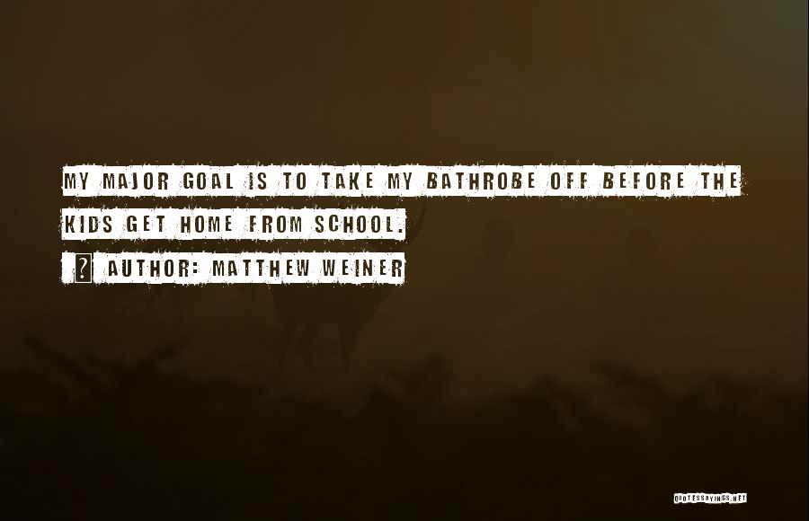 Matthew Weiner Quotes 829190
