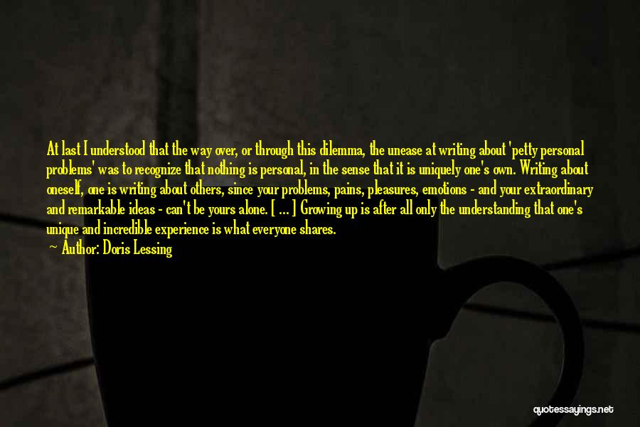 Maturity And Growing Up Quotes By Doris Lessing