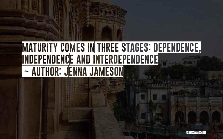 Maturity Comes Quotes By Jenna Jameson