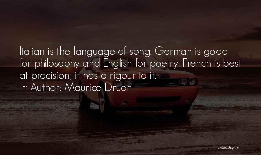 Maurice Druon Quotes 1050684