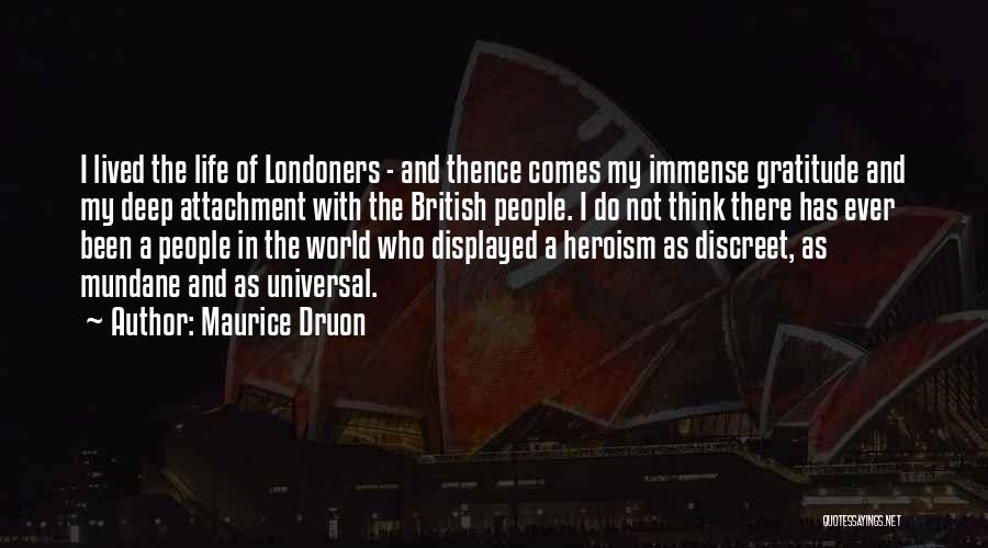 Maurice Druon Quotes 1998812