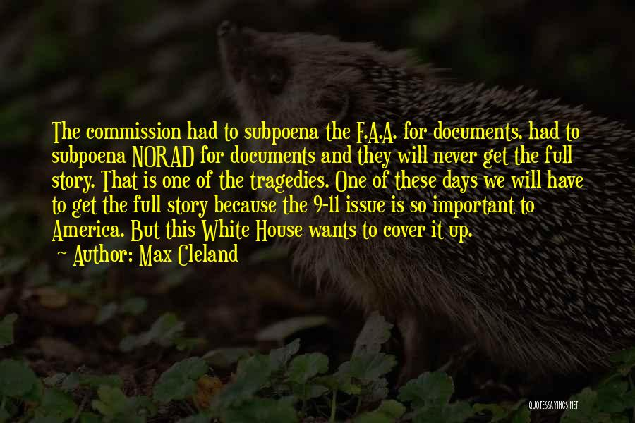 Max Cleland Quotes 416026