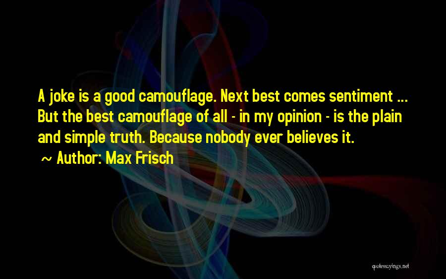 Max Frisch Quotes 139196