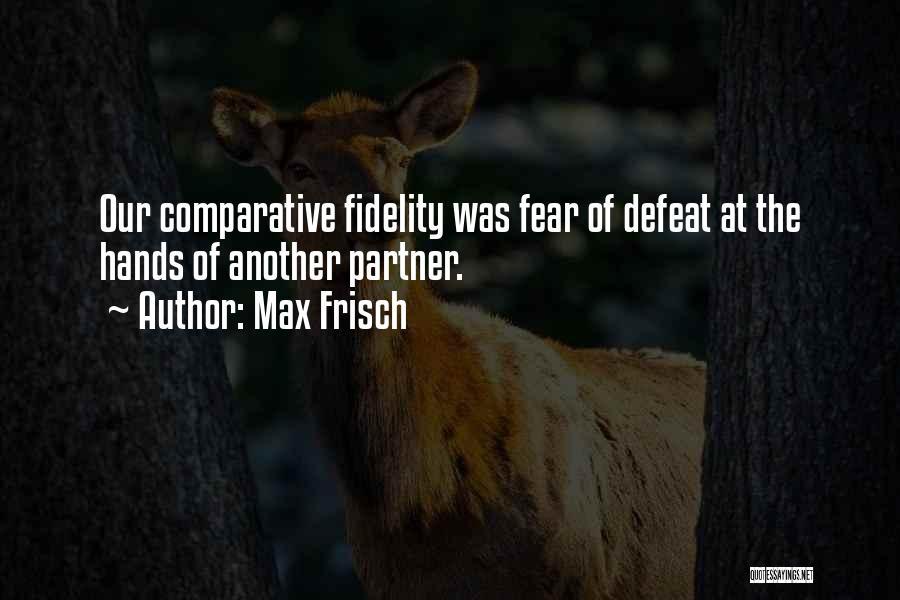 Max Frisch Quotes 1781745