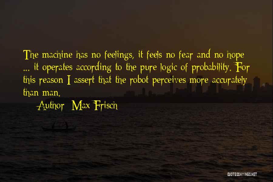 Max Frisch Quotes 818288