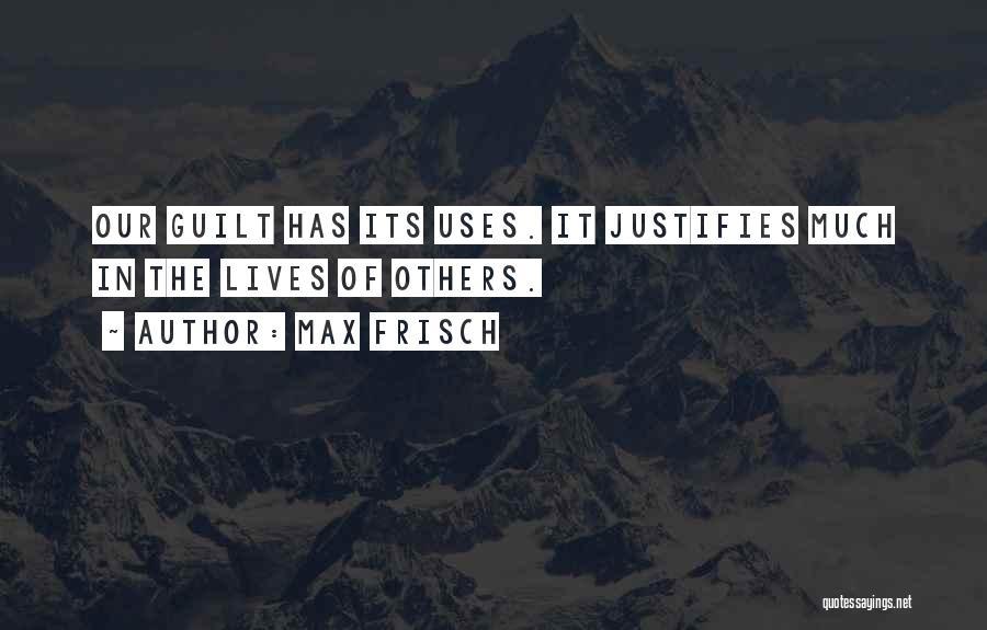 Max Frisch Quotes 920801