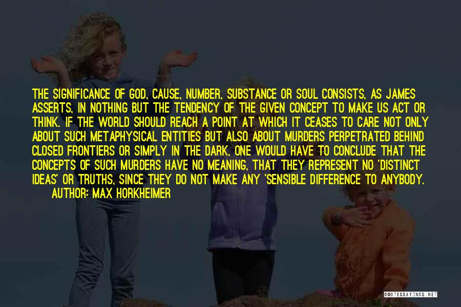Max Horkheimer Quotes 1329757