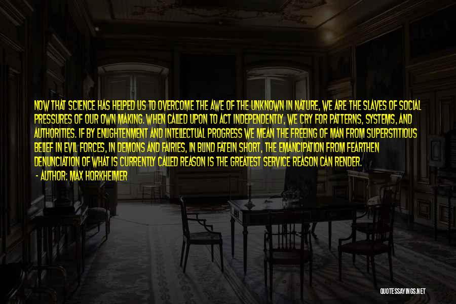 Max Horkheimer Quotes 1633783