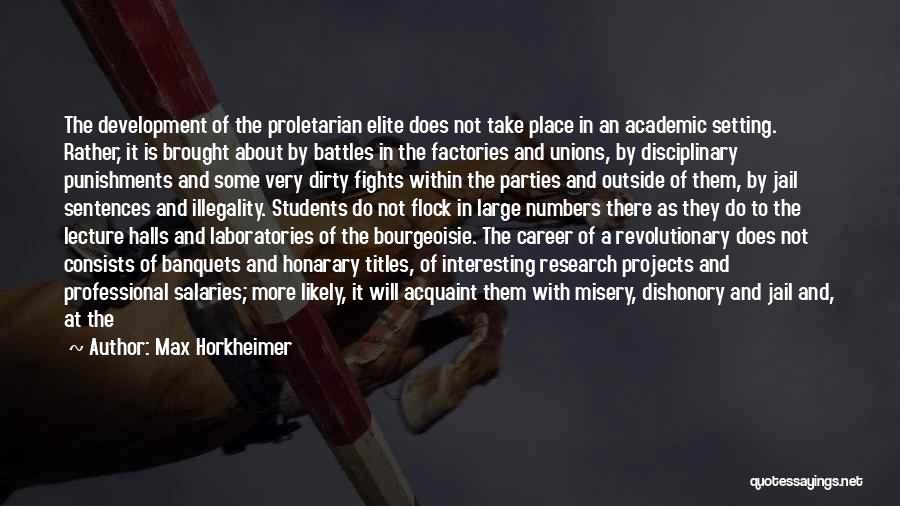 Max Horkheimer Quotes 1914164