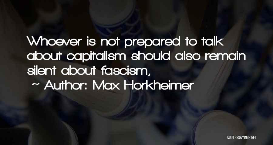 Max Horkheimer Quotes 1918552