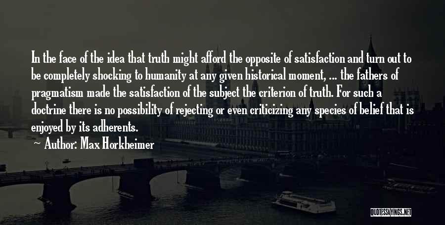 Max Horkheimer Quotes 1935754