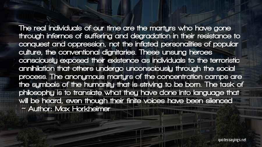 Max Horkheimer Quotes 2245034