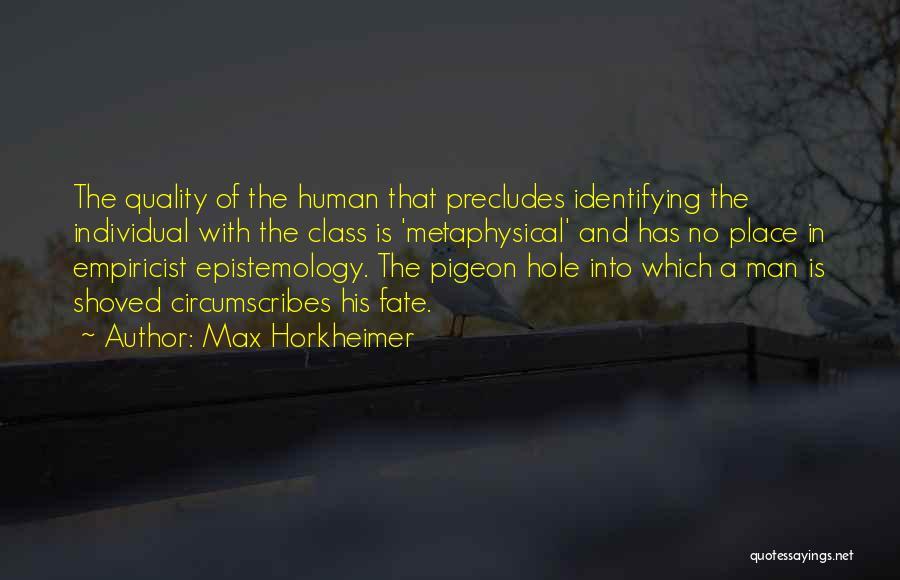 Max Horkheimer Quotes 327469