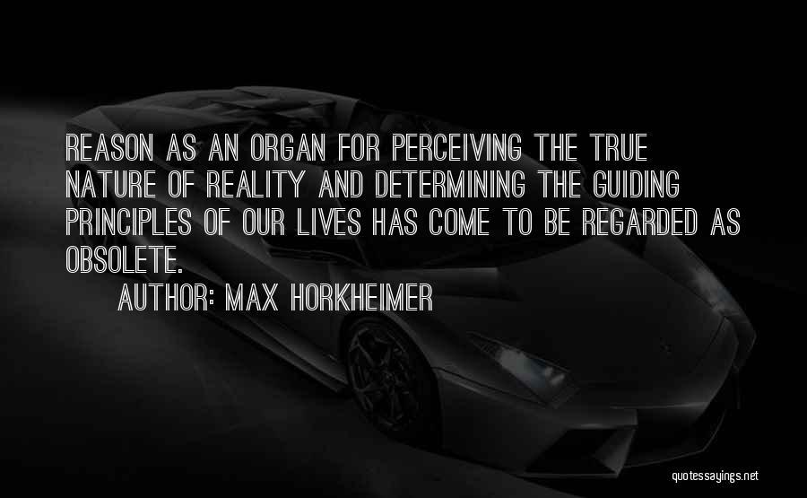 Max Horkheimer Quotes 488226