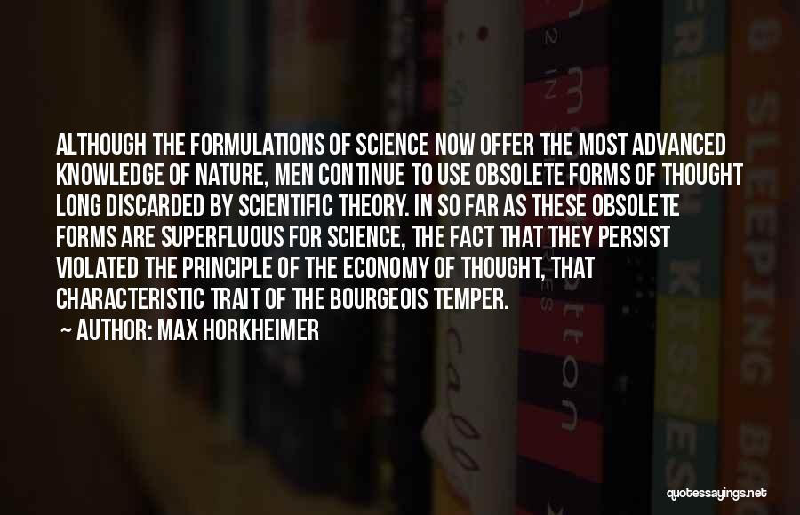 Max Horkheimer Quotes 86718