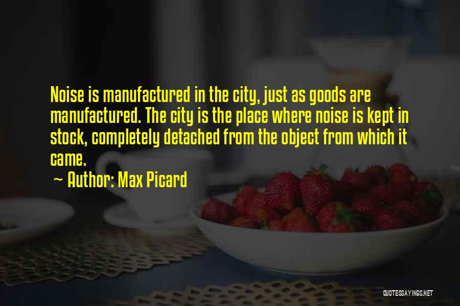 Max Picard Quotes 1939268