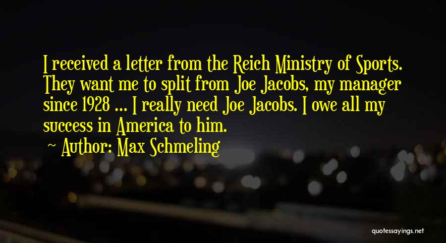 Max Schmeling Quotes 1682333