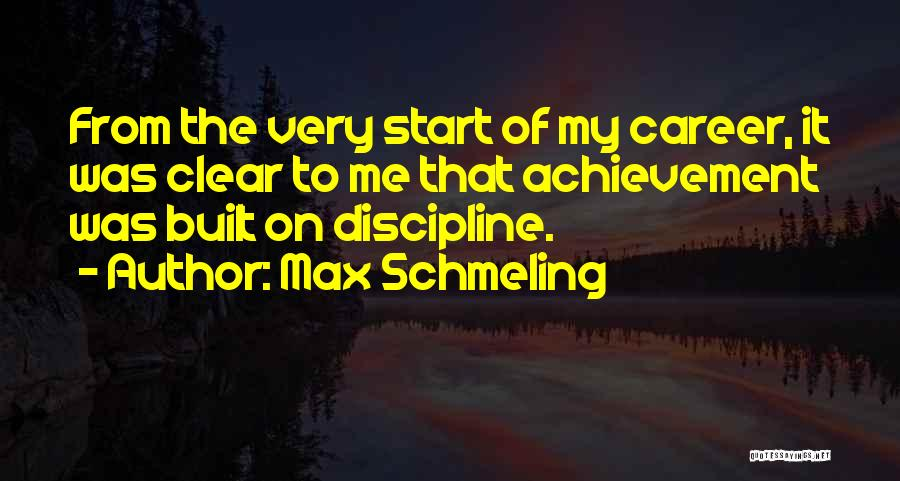 Max Schmeling Quotes 762419