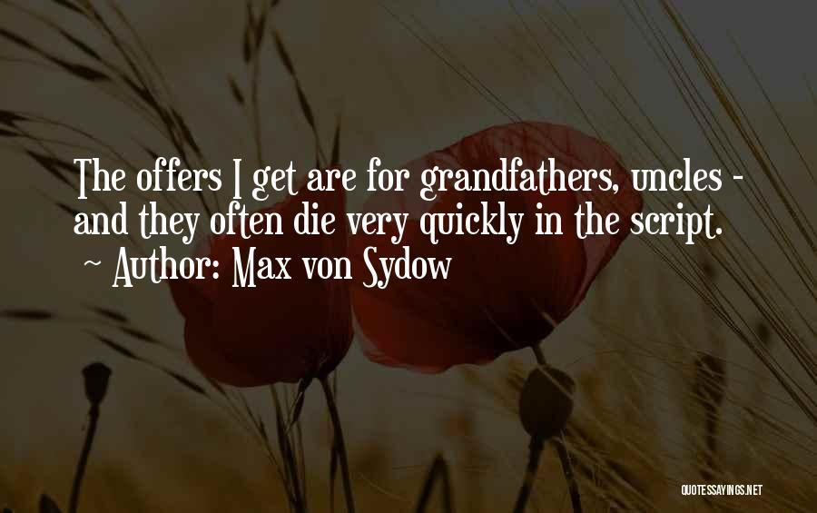 Max Von Sydow Quotes 1201525