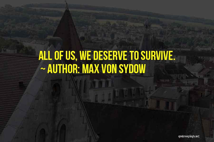 Max Von Sydow Quotes 1252968