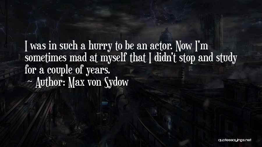 Max Von Sydow Quotes 1434571