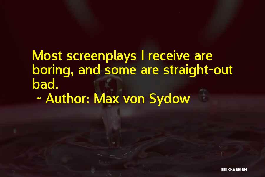 Max Von Sydow Quotes 1578432