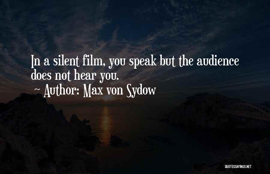 Max Von Sydow Quotes 1620403