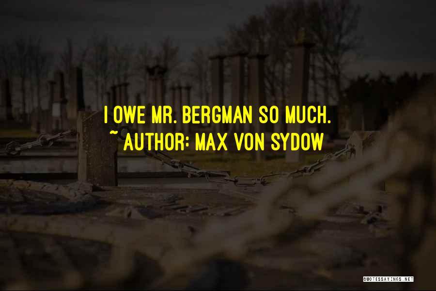Max Von Sydow Quotes 1693636