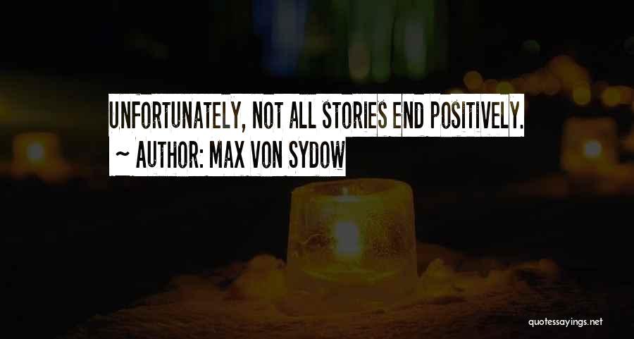 Max Von Sydow Quotes 2245517