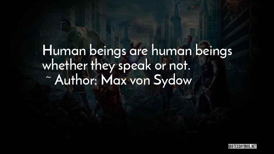 Max Von Sydow Quotes 270689