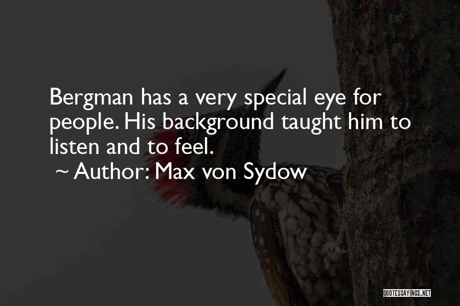 Max Von Sydow Quotes 801173