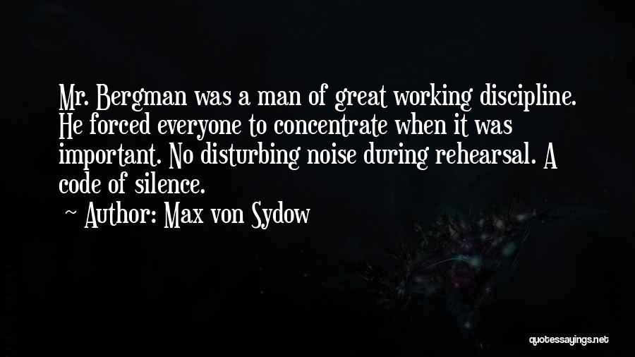 Max Von Sydow Quotes 809555