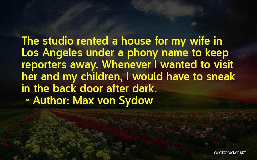 Max Von Sydow Quotes 851354