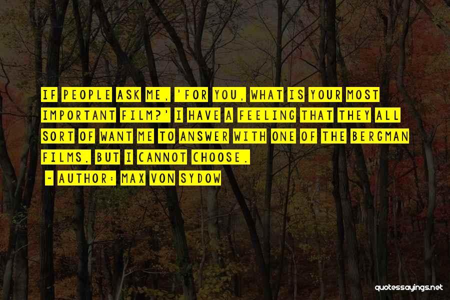Max Von Sydow Quotes 98094