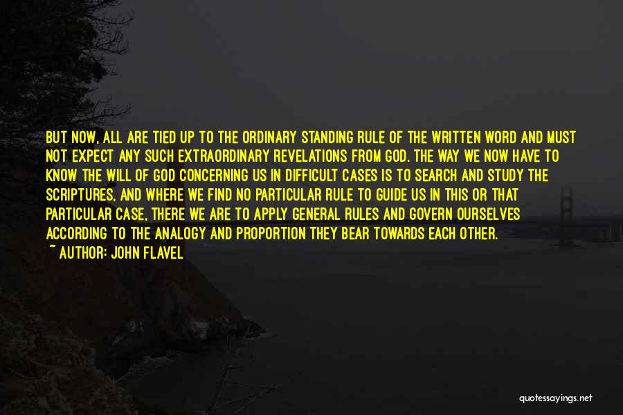 May God Guide Us Quotes By John Flavel