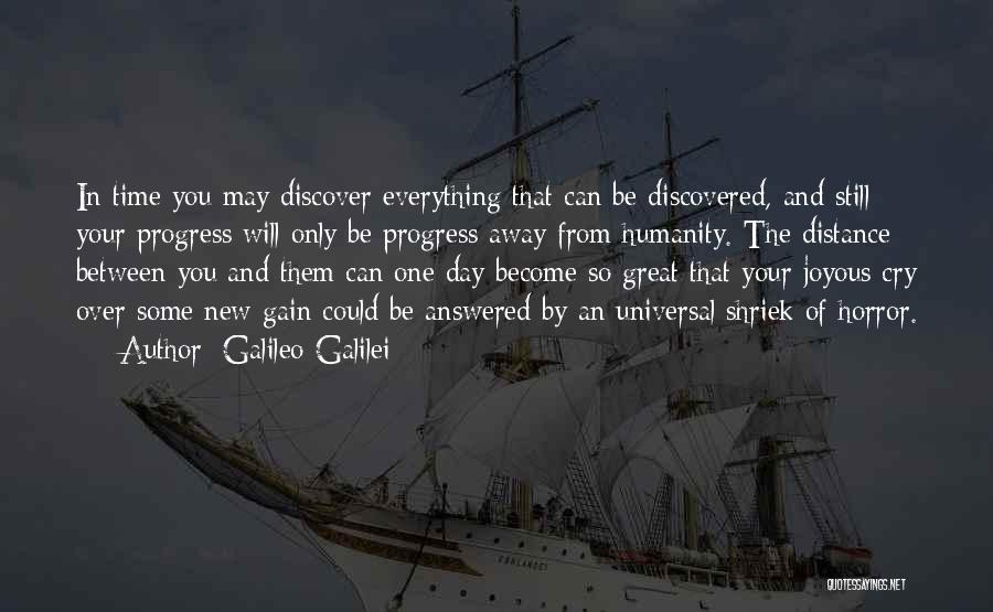 May Your Day Be Quotes By Galileo Galilei