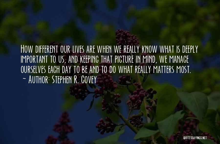 Maybe One Day Picture Quotes By Stephen R. Covey