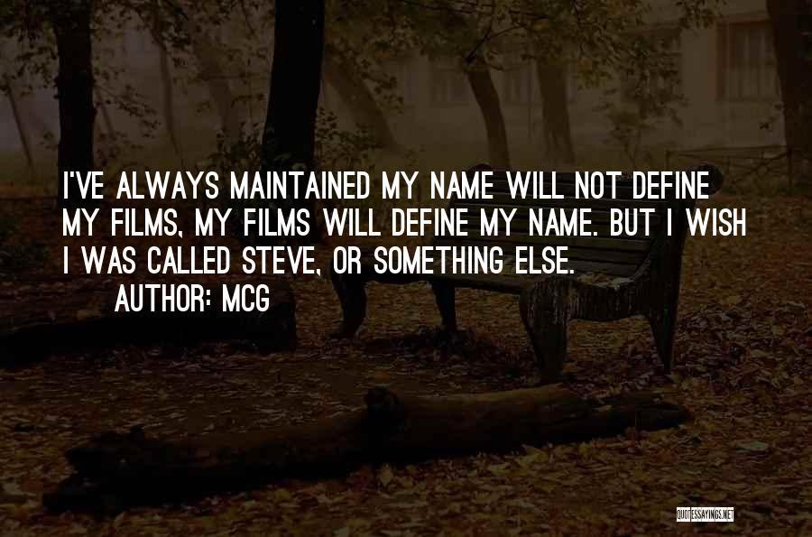 McG Quotes 483915